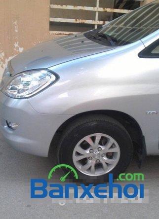 Chính chủ bán xe Toyota Innova G đời 2007, màu bạc, giá 495Tr-1