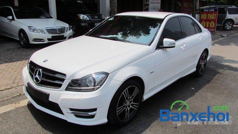 Vạn Lộc auto bán ô tô Mercedes 200 đời 2014, màu trắng đã đi 10000 km, nhập khẩu-1