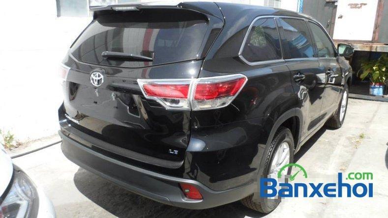 Cần bán Toyota Highlander Le 2.7 đời 2014, màu đen, nhập khẩu-1
