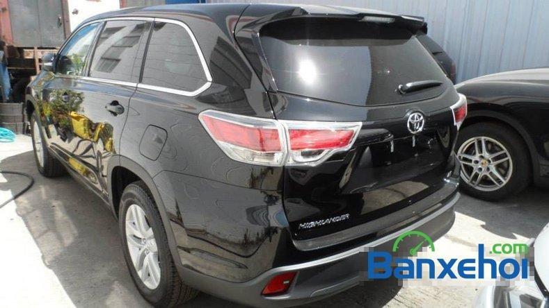 Cần bán Toyota Highlander Le 2.7 đời 2014, màu đen, nhập khẩu-2