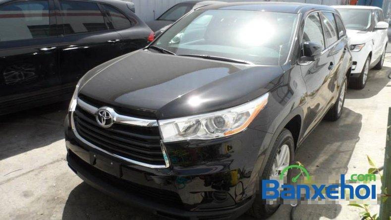 Cần bán Toyota Highlander Le 2.7 đời 2014, màu đen, nhập khẩu-0