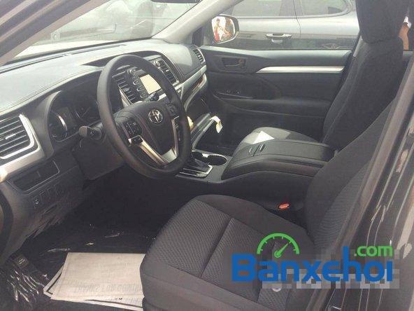Cần bán Toyota Highlander Le 2.7 đời 2014, màu đen, nhập khẩu-4