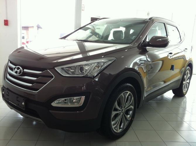 Bán xe Hyundai Santa Fe  2014 mới tại Hà Nội giá 1 Tỷ 365 Triệu-0