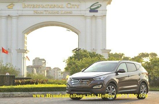 Bán xe Hyundai Santa Fe  2014 mới tại Hà Nội giá 1 Tỷ 365 Triệu-2
