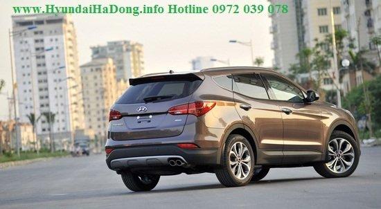Bán xe Hyundai Santa Fe  2014 mới tại Hà Nội giá 1 Tỷ 365 Triệu-4