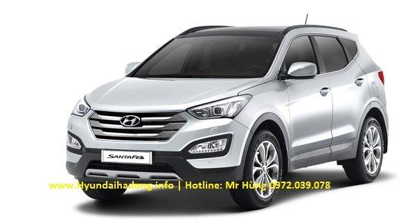 Bán xe Hyundai Santa Fe  2014 mới tại Hà Nội giá 1 Tỷ 365 Triệu-11