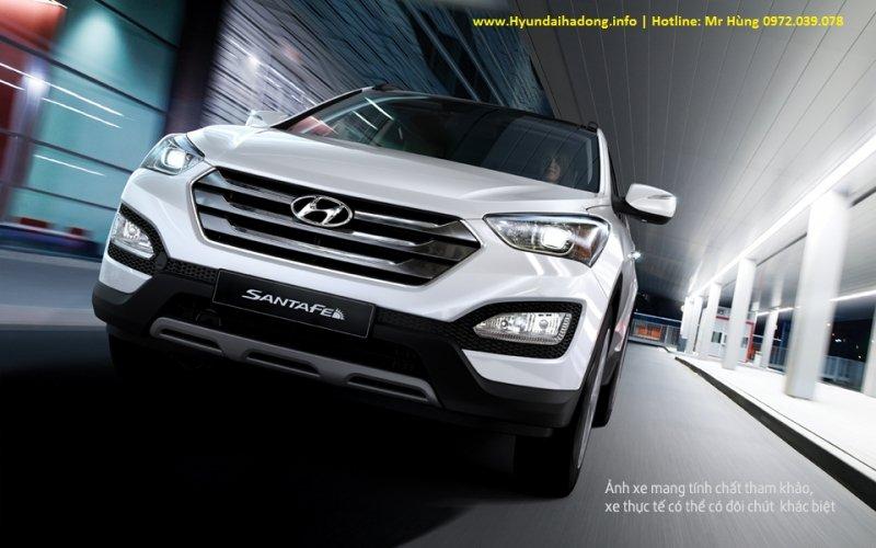 Bán xe Hyundai Santa Fe  2014 mới tại Hà Nội giá 1 Tỷ 365 Triệu-12