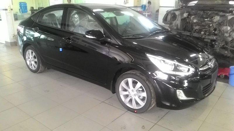 Bán xe Hyundai Accent  2015 mới tại TP HCM giá 550 Triệu-3