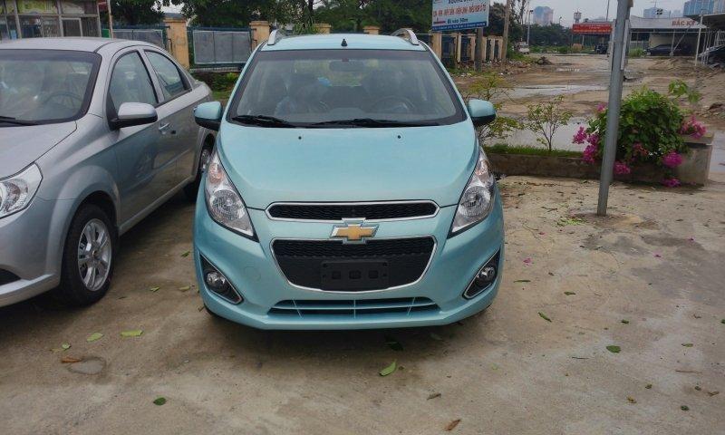 Bán xe Chevrolet Spark LT 2014 mới tại Hà Nội giá 340 Triệu-0