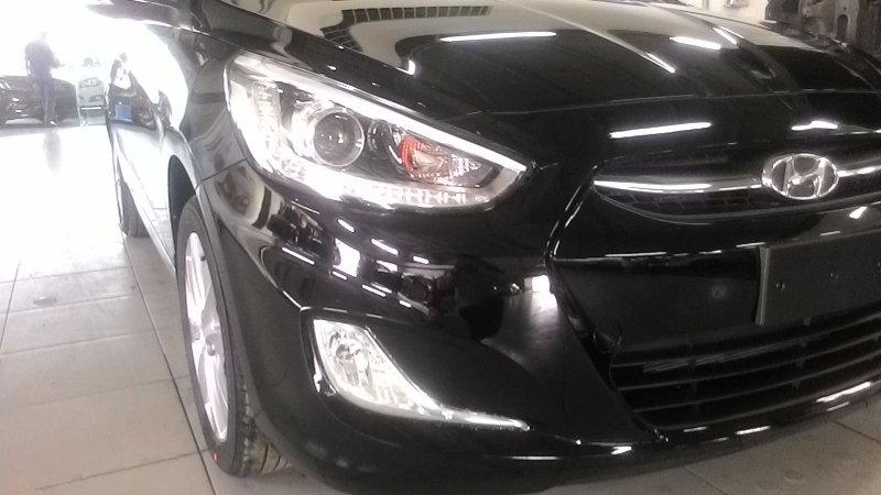 Bán xe Hyundai Accent  2015 mới tại TP HCM giá 550 Triệu-2