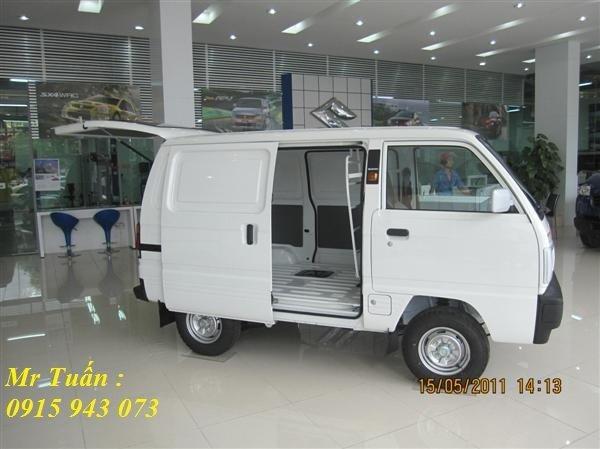 Bán xe Suzuki Super Carry Van xe bán tải 2014 mới tại Hà Nội giá 240 Triệu-2