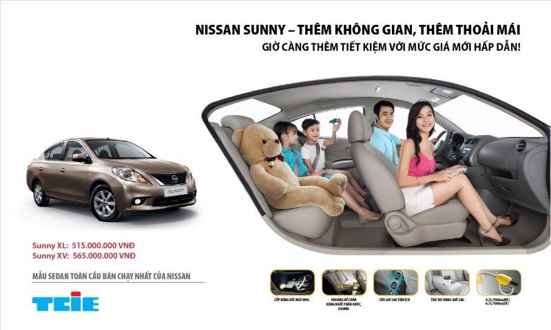 Bán xe Nissan Sunny B 2014 mới tại Hà Nội giá 463 Triệu-1