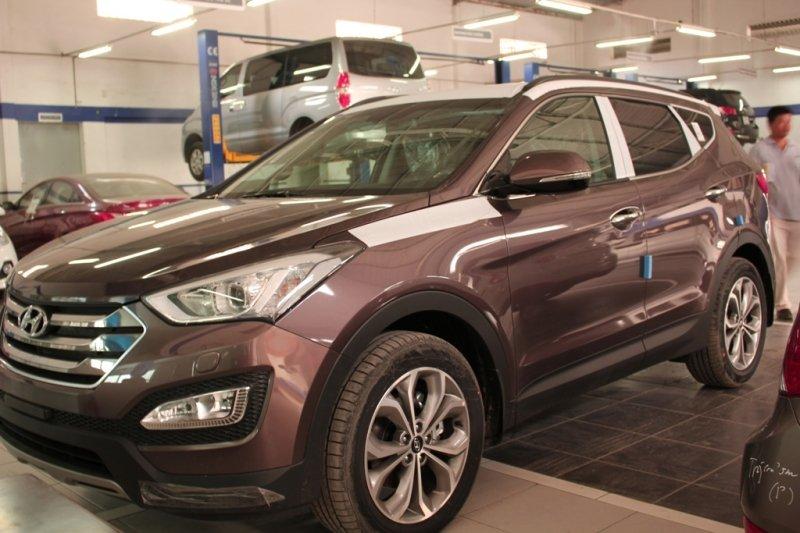 Bán xe Hyundai Santa Fe  2014 mới tại TP HCM giá 1 Tỷ 398 Triệu-0
