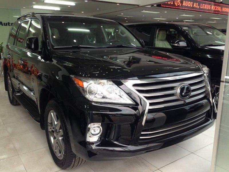 Bán xe Lexus LX 570 2015 mới tại Hà Nội giá 5 Tỷ 550 Triệu-0