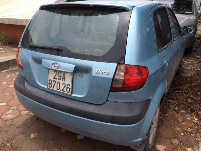 Bán xe Hyundai Getz  2009 cũ tại Hà Nội giá 280 Triệu-4