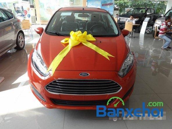 Bán Ford Fiesta sản xuất 2014, màu đỏ, giá chỉ 540 triệu nhanh tay liên hệ-0
