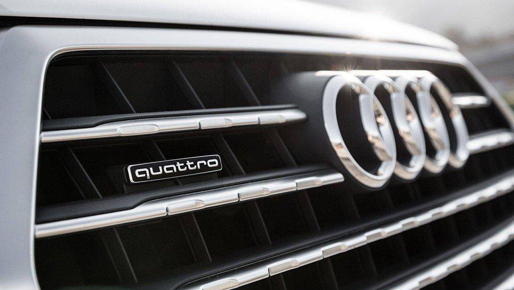 Lưới tản nhiệt của Audi Q7 2016.