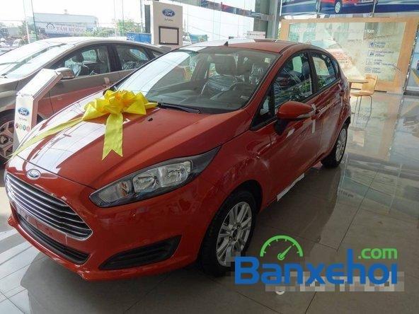 Bán Ford Fiesta sản xuất 2014, màu đỏ, giá chỉ 540 triệu nhanh tay liên hệ-1
