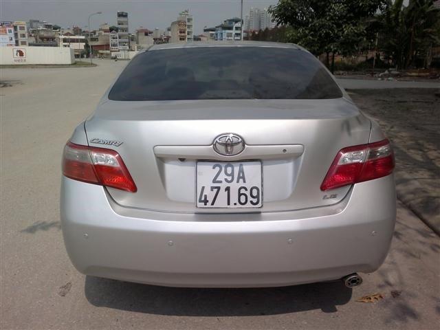 Toyota Camry LE đời 2008, nhập khẩu nguyên chiếc số tự động-4
