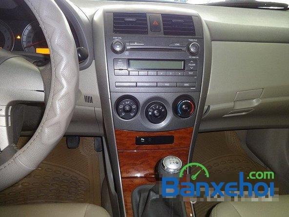 Salon Auto Quốc Toản cần bán lại xe Toyota Corolla altis 1.8 G đời 2010, màu đen giá 600tr-9