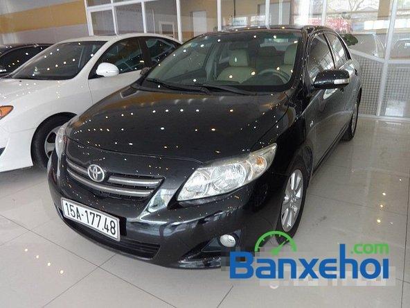 Salon Auto Quốc Toản cần bán lại xe Toyota Corolla altis 1.8 G đời 2010, màu đen giá 600tr-1