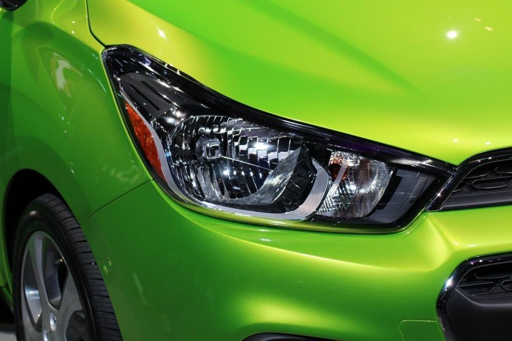 Đánh giá đầu xe Chevrolet Spark 2016