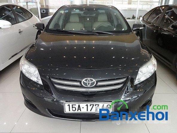 Salon Auto Quốc Toản cần bán lại xe Toyota Corolla altis 1.8 G đời 2010, màu đen giá 600tr-0