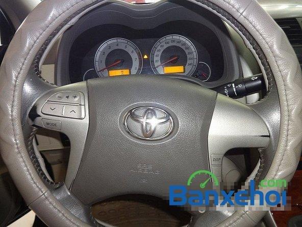 Salon Auto Quốc Toản cần bán lại xe Toyota Corolla altis 1.8 G đời 2010, màu đen giá 600tr-8