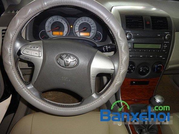Salon Auto Quốc Toản cần bán lại xe Toyota Corolla altis 1.8 G đời 2010, màu đen giá 600tr-6