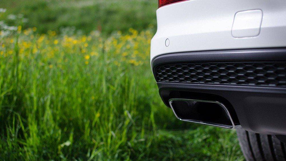 ống xả của Audi q7 2016.