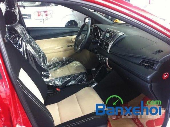 Cần bán xe Toyota Yaris 1.3E đời 2015, màu đỏ - Hỗ trợ vay mua xe trả góp-4