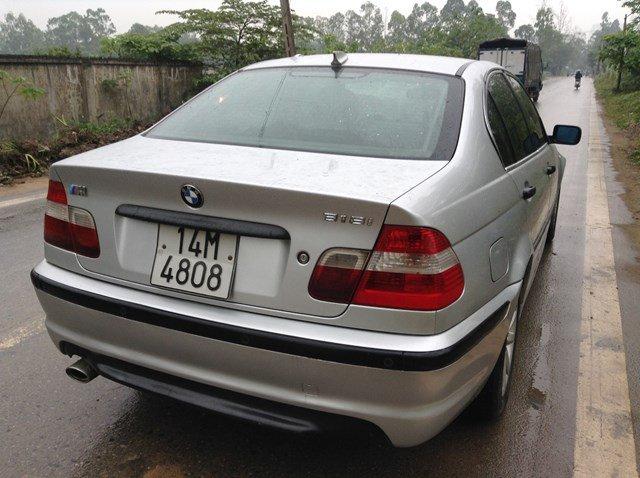Cần bán gấp BMW 3 Series 318i đời 2006, màu bạc -1