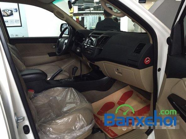 Bán xe Toyota Fortuner 2.7V năm 2015, màu trắng giá 1,019 tỉ-6