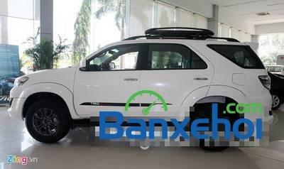 Bán xe Toyota Fortuner 2.7V năm 2015, màu trắng giá 1,019 tỉ-0