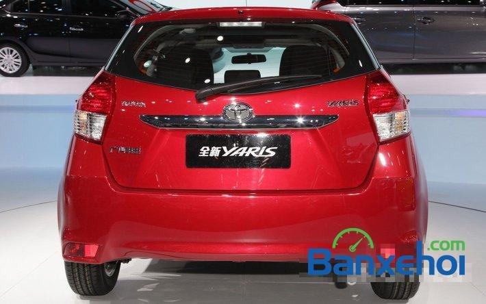 Cần bán xe Toyota Yaris 1.3E đời 2015, màu đỏ - Hỗ trợ vay mua xe trả góp-3
