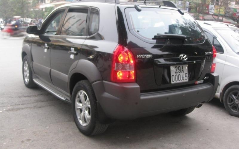 Hyundai Tucson 4WD đời 2010, màu đen, nhập khẩu chính hãng, 555 triệu-5