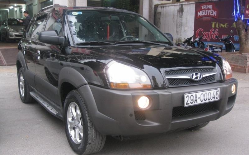 Hyundai Tucson 4WD đời 2010, màu đen, nhập khẩu chính hãng, 555 triệu-2