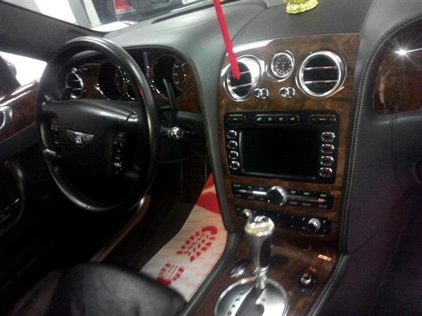 Bentley Continental đời 2008, màu đen, nhập khẩu nguyên chiếc-4