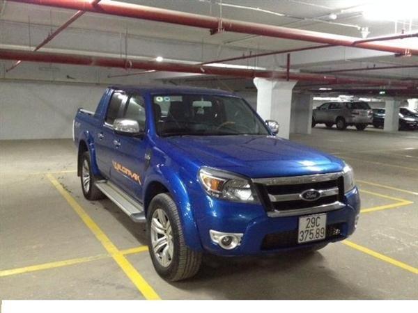 Xe Ford Ranger đời 2010, màu xanh lục, nhập khẩu chính hãng-6