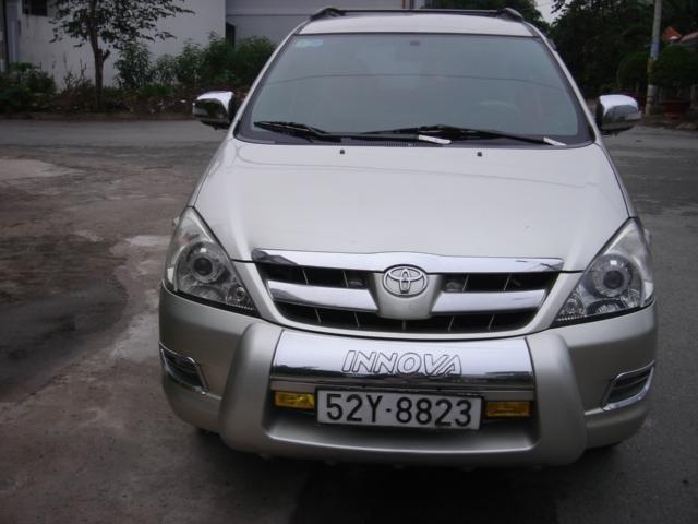Bán ô tô Toyota Innova năm 2006, màu bạc còn mới-1