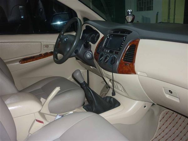 Cần bán lại xe Toyota Innova đời 2007, màu bạc số sàn    -1