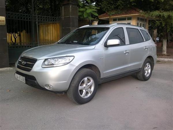 Cần bán gấp Hyundai Santa Fe đời 2008, màu bạc, nhập khẩu chính hãng chính chủ, 650 triệu-1