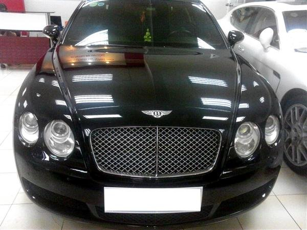 Bentley Continental đời 2008, màu đen, nhập khẩu nguyên chiếc-1