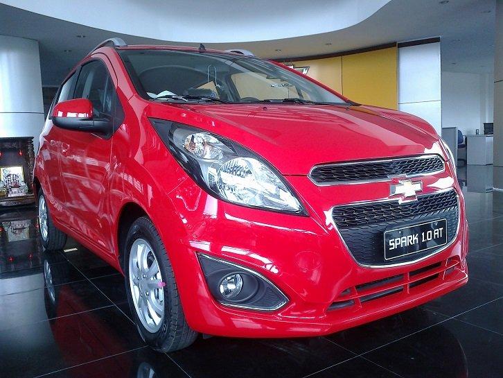 Cần bán Chevrolet Spark đời 2014, màu đỏ-6