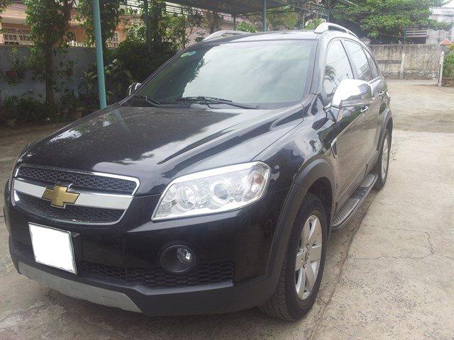 Cần bán xe Chevrolet Captiva năm 2007, màu đen-2