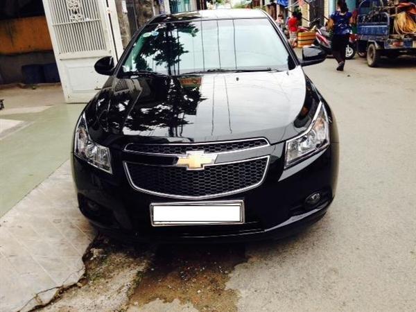 Chevrolet Cruze đời 2012, màu đen còn mới-0