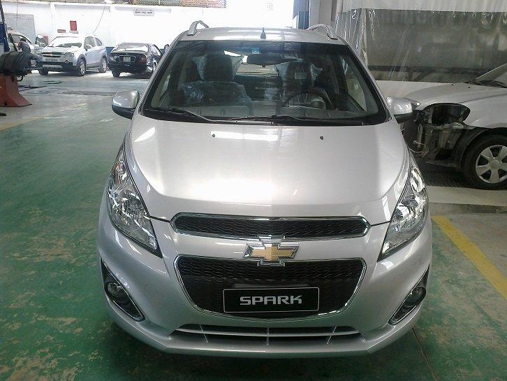 Cần bán Chevrolet Spark đời 2014, màu đỏ-3