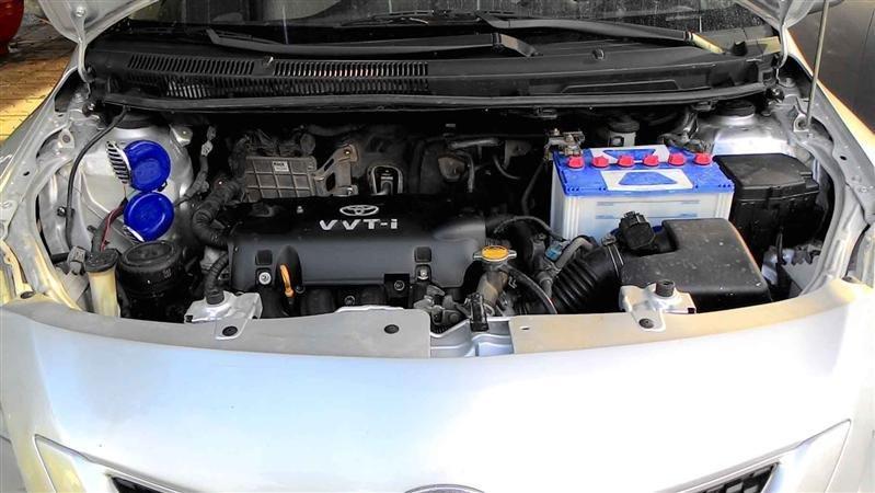 Cần bán lại xe Toyota Yaris đời 2008, màu bạc, nhập khẩu -3