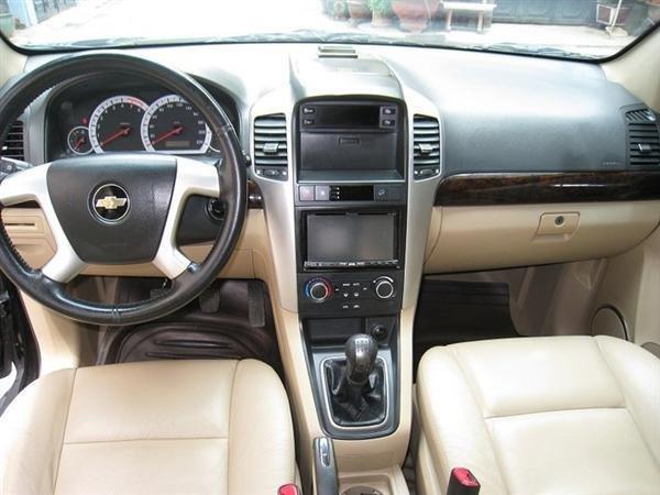 Cần bán gấp Chevrolet Captiva 2007, màu đen, xe đẹp như mới mua-4