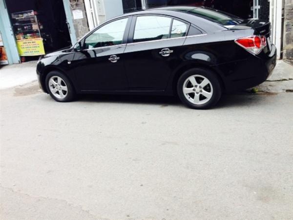 Bán ô tô Chevrolet Cruze đời 2012, màu đen số tự động-1